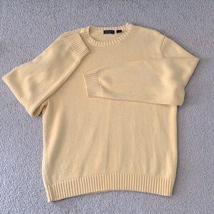 Pastel vintage oversized cotton knit sweater